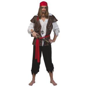 Karibisk pirat maskeraddräkt
