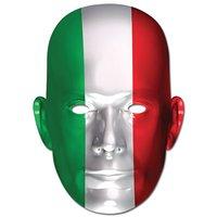 Ansiktsmask italienska flaggan