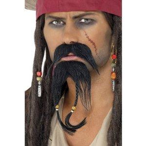 Piratansiktshår set