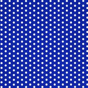 Mörkblå 3-lagers prickiga servetter 33 cm - 20 st