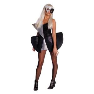 Lady Gaga svart paljettklänning