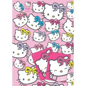 Hello Kitty presentpapper & etiketter