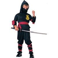 Ninja maskeraddr�kt f�r barn