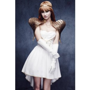 Glamorous ängel maskeraddräkt