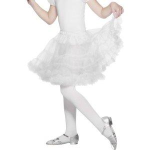 Underkjol vit barn