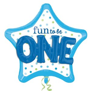 Folieballong - Fun to be One Boy