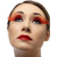 Ögonfransar - röda plymer