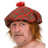 Skotsk basker med hår