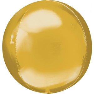 Folieballong - Orbz Guld