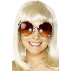 Partyglasögon silverbåge