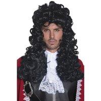 Pirat Captain peruk - Svart