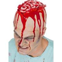 Skada - öppen hjärna mössa