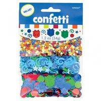 Konfetti till födelsedagen - flerfärgad av folie - 34 g