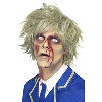 Zombie peruk grå