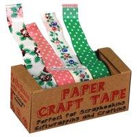 Pappers washitejp - spektakulära rosor- 4 st