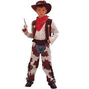 Cowboydräkt barn ljusbrun
