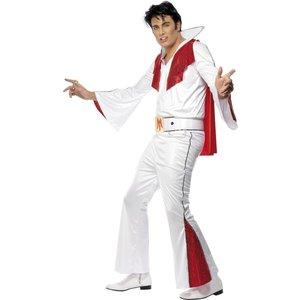 Elvis maskeraddräkt, vit