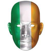 Ansiktsmask irländska flaggan