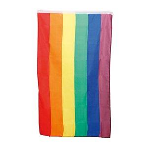 Regnbågsflagga 60 x 90 cm