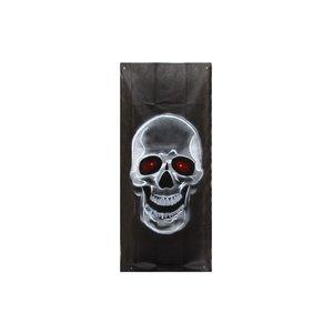 Lysande affisch Dödskalle