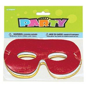 Ögonmasker i folie - blandade färger - 8 st