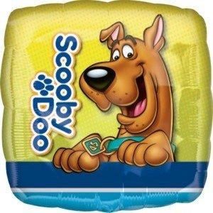 Folieballong - Scooby Doo Square 45 cm