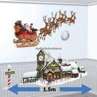 Jultomtens släde och verkstad add-on - 4 st