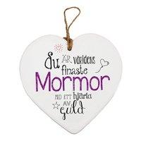 Hjärttavla- Mormor