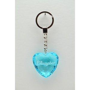 Diamant nyckelring - Lillasyster