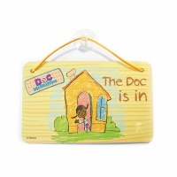 Doc McStuffins dörrskylt 16cm - 6 st