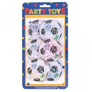 Labyrintspel för festen fotboll - 8 st