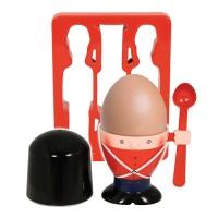 Soldat äggkopp och toasthållare