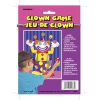 Sätt näsan på clownen spel