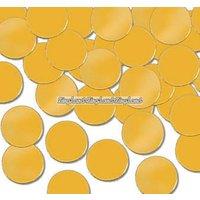Bordskonfetti prickar i guld - 28 g