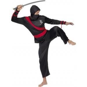 Ninjakrigare maskeraddräkt