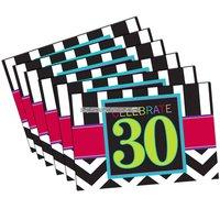Inbjudningskort 30-årsfest - 8 st