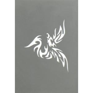 Tatueringsschablon - Phoenix