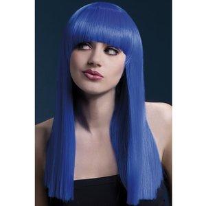 Alexia peruk - neonblå