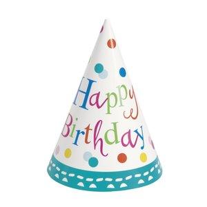 Partyhattar - Födelsedagstårta