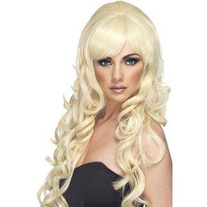 Popstjärna peruk blond