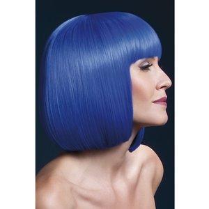 Peruk Elise - neonblå