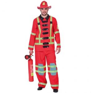 Brandman maskeraddräkt