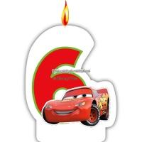 Disney bilar neon - ljus till 6-årsdagen