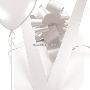 Dekorationspaket vit - 4 st