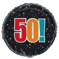 Folieballong - 50!