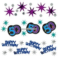Bordskonfetti till 50-årsdagen - The party continues 34 g
