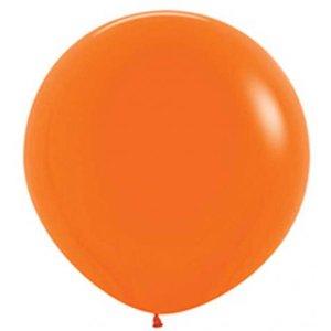 Jätteballong - Orange 80 cm