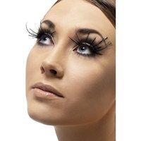 Ögonfransar - svarta plymer