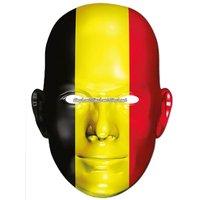 Ansiktsmask belgiska flaggan