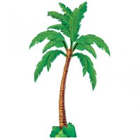 Ledad palm pappersfigur 1,8m